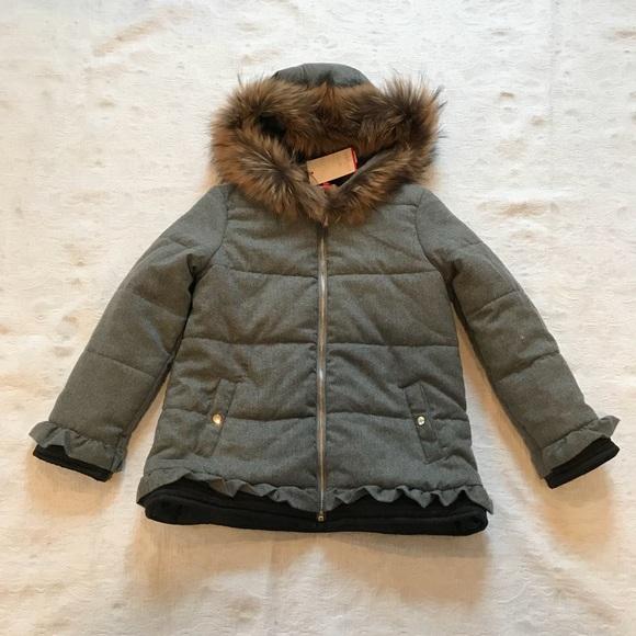 6cee02eaa Lili Gaufrette Jackets & Coats | Age 10fur Hooded Warm Coat262 ...